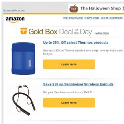 [Amazon] Up to 30% Off select Thermos products