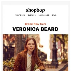 [Shopbop] Veronica Beard just launched something HUGE