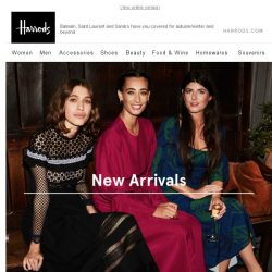 [Harrods] New Party Dresses & More