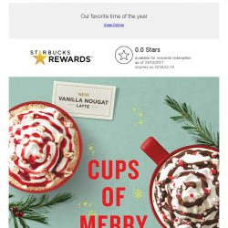 [Starbucks] Sip and be merry with Starbucks this Christmas