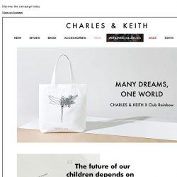 [Charles & Keith] Many Dreams, One World
