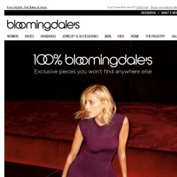 [Bloomingdales] All New Exclusive Dresses