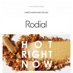 [RODIAL] What You're Buying This Week