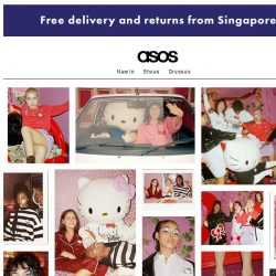 [ASOS] Exclusive: ASOS x Hello Kitty