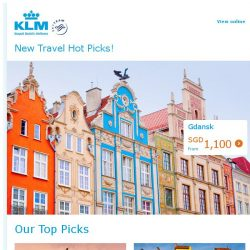 [KLM] Time to fly as the price is right! Europe from SGD 794!
