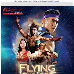 [Resorts World Sentosa] 40% Off Tickets to FLYING Through Time
