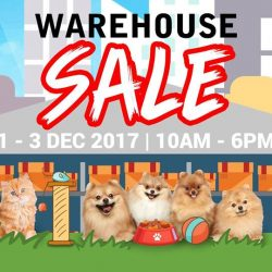 Pets' Station: Warehouse Sale 2017 with Up to 80% OFF Dry Food, Toys & Accessories, Bedding & More for Your Pets!