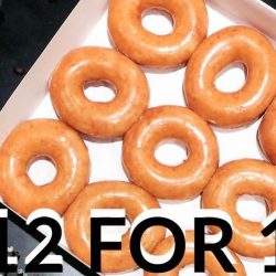Krispy Kreme: Enjoy 12 Original Glazed Doughnuts at Just $12 (UP $2.95 Each) on 12 October 2017!