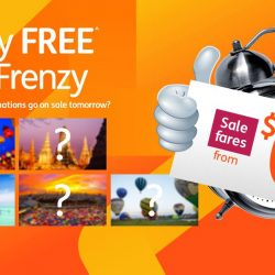 Jetstar: Friday FREE Fare Frenzy with Sale Fares to Phuket, Bangkok, Penang from $0!