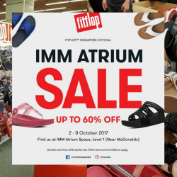 eb2bc282c FitFlop  Biggest Sale of the Year with Up to 60% OFF Footwear at IMM