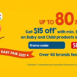 FairPrice: Coupon Code for $15 OFF Baby and Child Products
