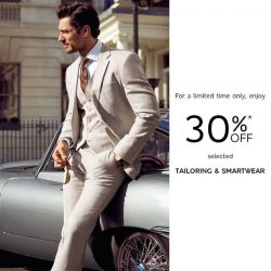 [Marks & Spencer] Keep your mind sharp and your suits sharper.