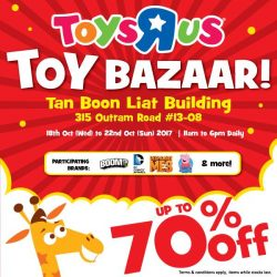 """[Babies'R'Us] Come join us at the Toys""""R""""Us Toy Bazaar to get great deals for the festive period!"""