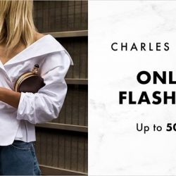 Charles & Keith: Online Flash Sale with Up to 50% off Selected Styles