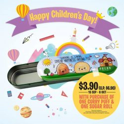 [Polar Puffs & Cakes Singapore] Here's your last chance to get your hands on our exclusive Polar Pencil Case at only $3.