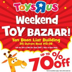 [Babies'R'Us] Join us at our weekend toy bazaar happening this week!