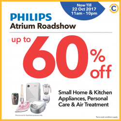 [NEX] Enjoy exclusive discounts up to 60% off on Small home & Kitchen Appliances, Personal Care & Air Treatment at COURTS Fair @ NEX