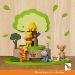 [7-Eleven Singapore] Get the classic theme collection of Disney's Winnie the Pooh wooden figurines when you shop at 7-Eleven!