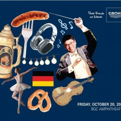 [GROHE SPA] OKTOBERFEAST FOR THE SENSES Join us this coming Friday, 20 October 2017, at GROHE OKTOBERFEAST FOR THE SENSES @ BGC Amphitheatre!