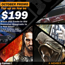 [GAME XTREME] Check out our PS4 Slim Trade-In promo (extended due to popular demand) here!