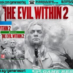 [GAME RESORT] PS4|XB1 The Evil Within 2,From mastermind Shinji Mikami and the talented team at Tango Gameworks, The Evil Within