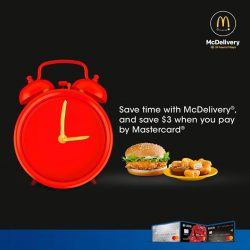 [UOB ATM] Save time and money on your McDelivery orders either via the app or mcdelivery.