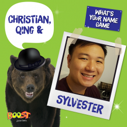 [Boost Juice Bars Singapore] All Christians, Qings & Sylvesters are definitely excited for Thursday!