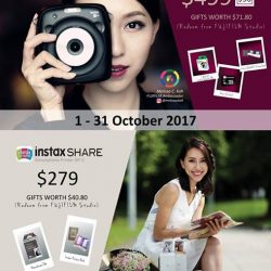 [FUJIFILM] Sweeten the celebrations of Deepavali with exclusive deals from FUJIFILM Instax from 1-31 October 2017!