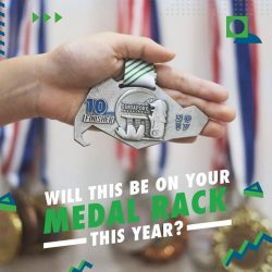 [Standard Chartered Bank] Add to your extensive medal collection by conquering the 10km race at Standard Chartered Singapore Marathon 2017.