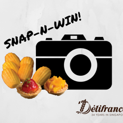 [Delifrance Singapore] Do you like taking photos of your food before diving into it?