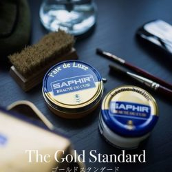 [Saphir] Saphir represents the finest range of shoe and leather care products.