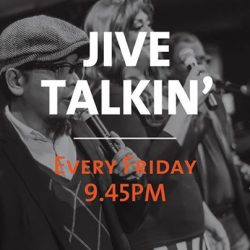 [Hard Rock Café] Join us for the Happiest Hour cos' we'll be shake things up with Jive Talkin and our double trouble