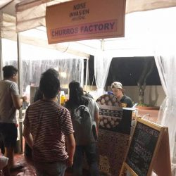 [Churros Factory Singapore] Throwback to last weekend Halloween over at Haw Par Villa for Noise Invasion Festival!