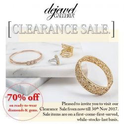 [Dejewel Galleria] It's the time of the year again Dejewel Galleria Fine Jeweler STOCK CLEARANCE SALE💍 Clearance prices under $3,500