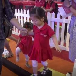[MindChamps Medical] Test your kid's agility at the mini obstacle course at I'm Proud of You!