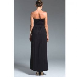 [Maternity Exchange] The Bloc Bandeau Maxi Dress from Milky Way's Something Beautiful Occasion Wear Collection.
