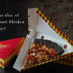 Pezzo Pizza: FREE Slices of Smokey Tandoori Chicken Pizza with The Magic Phrase!