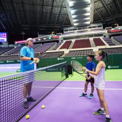 [OCBC ATM] Earlier this week, we surprised Dana (Life's Tiny Miracles) with an experience of a lifetime where she got tennis