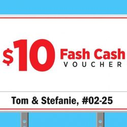 [Eastpoint Mall] Spruce up your style with a $10 Fash Cash voucher from now till 30 Nov 2017!