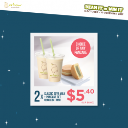 [Mr Bean Singapore] Bean It to Win It now with Mr Bean's $5 onwards combo deals!
