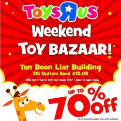 "[Babies'R'Us] Last day of the Toys""R""Us Weekend Toy Bazaar at Tan Boon Liat!"