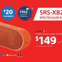 [Sony Singapore] Have you gotten the SRS-XB20 yet?