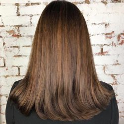 [Salon Vim] Brown hues with copper highlights!