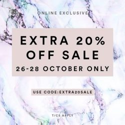 [MDSCollections] Extra 20% OFF on sale items | Online exclusive, don't miss it !