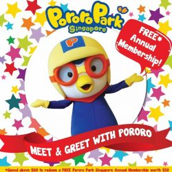 [Pornro Park Singapore] Head over to Toys''R''Us Waterwaypoint this weekend to meet & greet Pororo the Little Penguin!