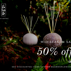 [BsaB] 50% OFF reed diffuser, ceramic diffuser, car diffuser, pillow mist and scented cube beeswax for selected scents only.