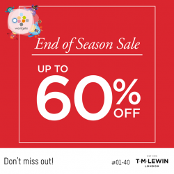 [Westgate Mall] It's time for the End of Season Sale!
