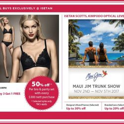 [Isetan] Be sure to snag up these special buys from 2 - 5 Nov.