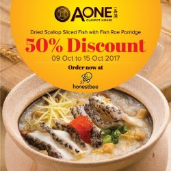 [A-One Claypot House] Great news, we are with Honestbee now!