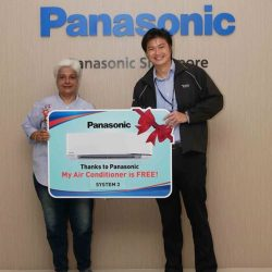 [Panasonic] Congratulations JBV Investment Holdings Pte Ltd on being one of our 18 lucky winners to walk away with a full